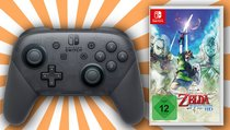 <span>Switch-Hammer:</span> Pro-Controller + Zelda-Remaster nur noch heute zum Top-Preis