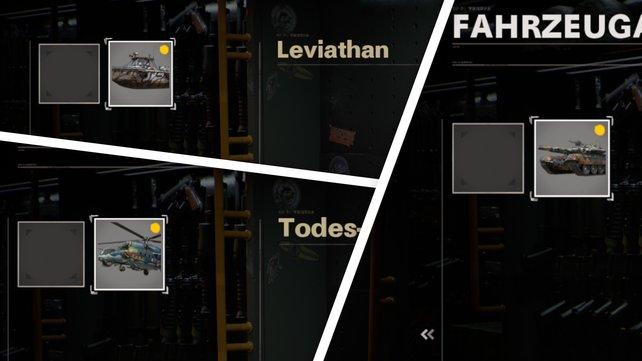 """Diese drei Fahrzeug-Skins erhaltet ihr im """"Land, Wasser, Luft""""-Paket"""