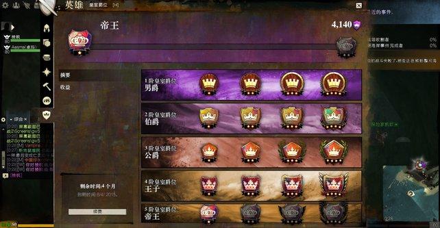 Je länger ein chinesischer Spieler in Guild Wars 2 für den VIP-Status zahlt und je mehr Zeit er währenddessen in das Spiel investiert, desto größter fallen die Belohnungen aus.