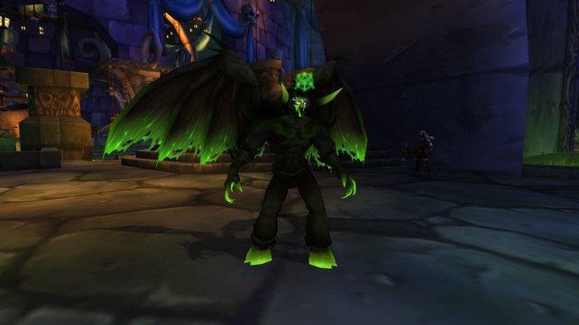 Die Metamorphose könnt ihr als Zerstörungs-Hexenmeister nicht verwenden, dafür aber zahlreiche andere Fähigkeiten!