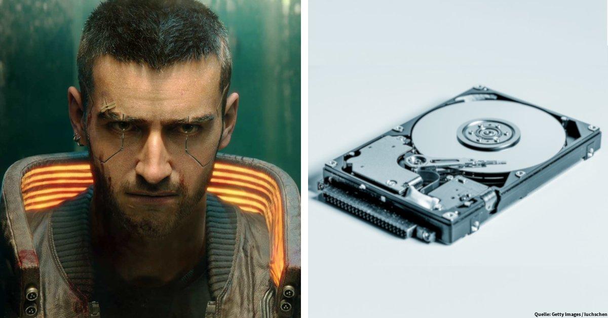 News | Cyberpunk 2077: So viel Speicherplatz müsst ihr mindestens freischaufeln