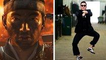 Spieler reitet Gangnam Style - ohne Pferd