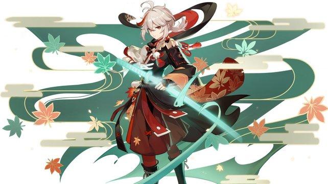 Kazuha wird bald im Spiel implementiert. Bild: MiHoYo