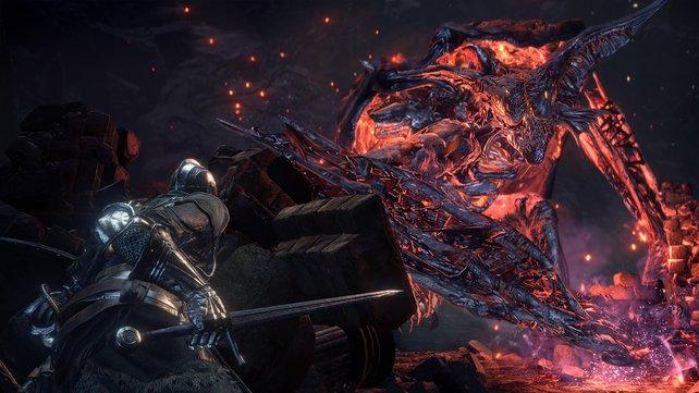 Bosse in Dark Souls sind das Gegenteil eines fröhlichen Kindergeburtstags.