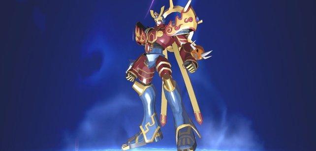 Susanoomon ist eines der beliebteste Digimon. Ihr kennt es vielleicht aus der Anime-Serie Digimon Frontier.