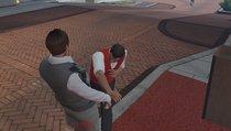 Spieler misshandeln einen armen Casino-Angestellten