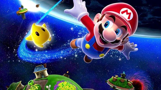 Eine Produktseite spricht von einer Switch-Version für Super Mario Galaxy.