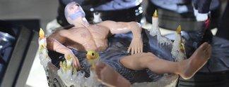 Geralt in der Wanne: Neue heiße Witcher-Statue entdeckt