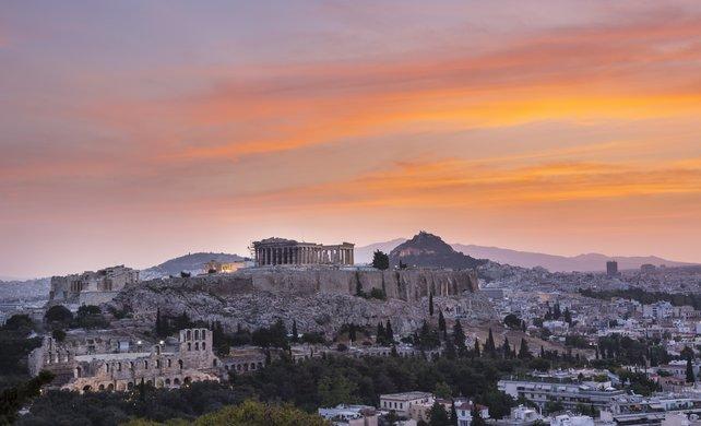 Das moderne Athen sieht aus wie vor tausenden von Jahren.
