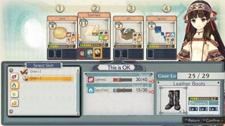 ATELIER SHALLIE - SYNTHESIS GAMEPLAY