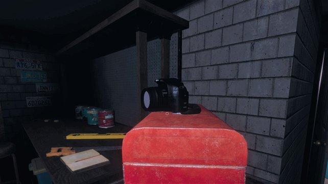 Platziert die Kamera an höhergelegenen Orten, um den Überblick zu bewahren.