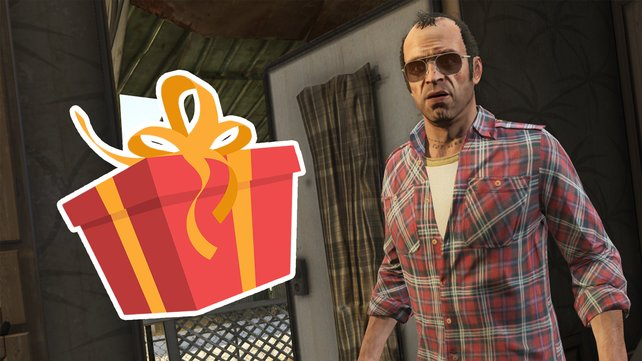 """Ein kurioser Bug sorgt dafür, dass ein Spieler in GTA Online ein """"Geschenk"""" von Rockstar bekommt, das kaum lächerlicher sein könnte. Die Community feiert die Aktion. (Bild: Rockstar Games / Getty Images – Yevhenii Dubinko)"""