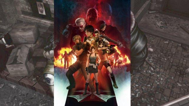 Mit diesem Bild lässt Capcom Fans wieder hoffen: Zu sehen sind Jill Valentine (ganz vorne) und Antagonist Nemesis (hinten, vor Mr. X) aus Resident Evil 3.