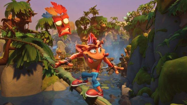 Crash Bandicoot 4 wird bunt, wild und rasant.