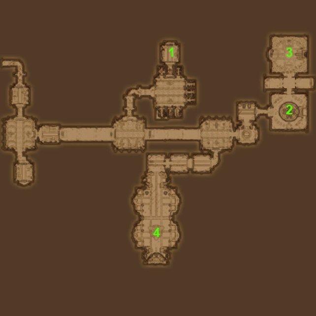 Karte Anwesen der Arglist.