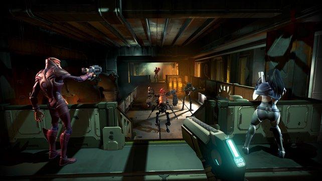 Sämtliche Level sind prozedural generiert - nicht nur im Multiplayer eine echte Bereicherung.