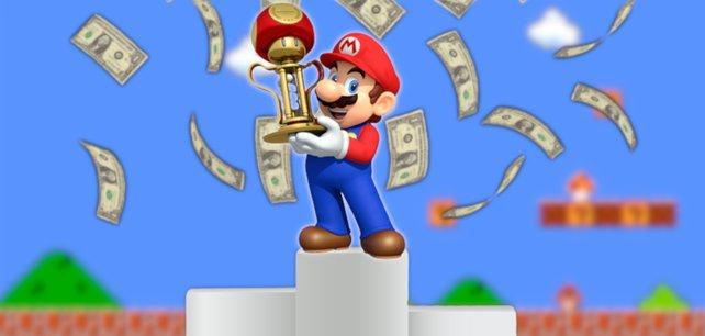 Super Mario ist das erfolgreichste Videospiel-Franchise - doch welche Spiele führen die Liste an?