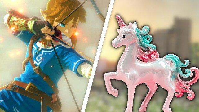 Link hat dank einem Trick plötzlich leichtes Spiel. (Bildquelle: Nintendo, Getty Images / Veronika Viskova)