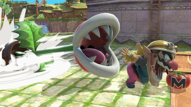 Die Piranha-Pflanze als Kämpfer? So verrückt ist nur Super Smash Bros.