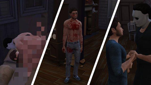 """Sex, Mord, Liebe: In Sinans """"Sims by Daylight"""" bleibt kein Auge trocken - oder Fußboden."""
