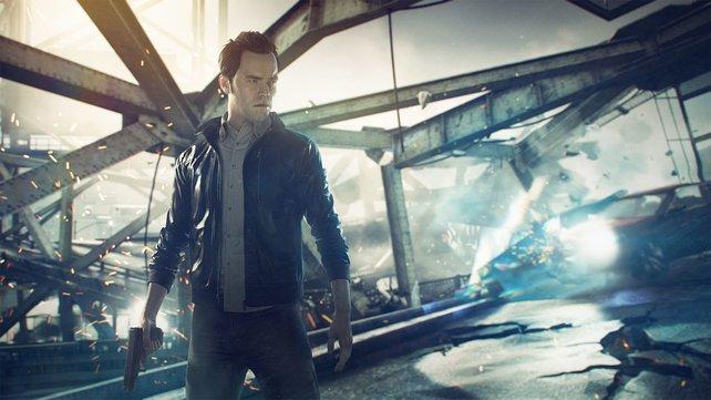 In Quantum Break habt ihr die Möglichkeit, die Zeit zu manipulieren.
