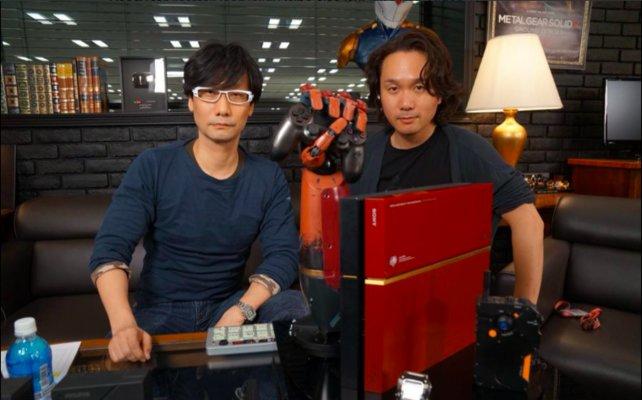 So präsentiert sich Hideo Kojima (links) seinen Anhängern auf seinem Twitter-Kanal https://twitter.com/hideo_kojima_en.