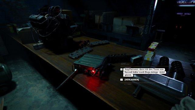 Lügt ihr, könnt ihr mit diesem Funkgerät interagieren. Oder eben nicht ...