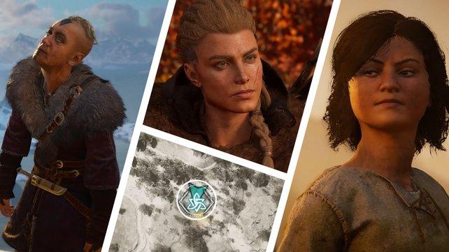 In den 128 Weltereignissen trefft ihr in Assassin's Creed Valhalla auf interessante Charaktere.