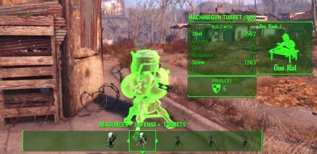 Maschinengewehr-Geschützturm