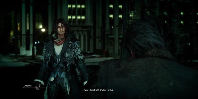 Ardyn will den Kristall, um sich zu rächen. Doch dafür braucht er auch Noctis und den Ring der Macht.