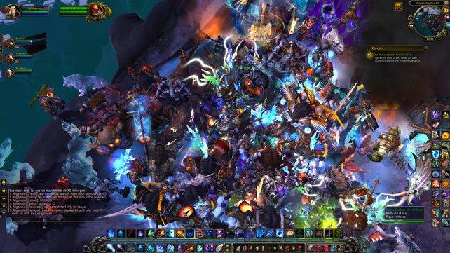 Nicht umsonst sieht es in World of Warcraft oft so aus. Die Liebe zu MMORPGs ist vielen von uns quasi einprogrammiert.
