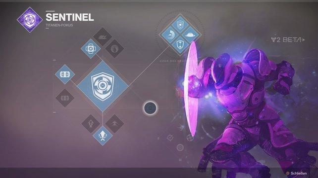 Sentinel: Für die offensive und defensive Titanen gleichermaßen gut geeignet.