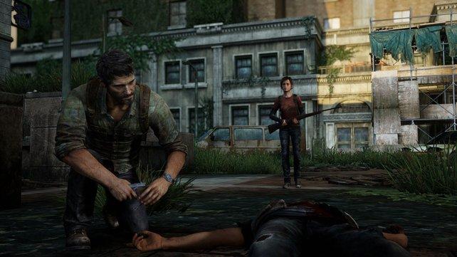 Kein Grund so traurig zu schauen: The Last of Us macht auf der PS4 Pro eine gute Figur.