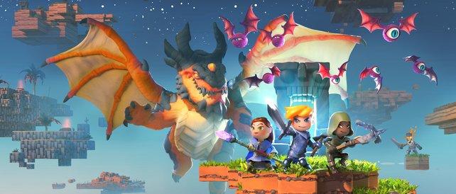 Portal Knights Das Sieht Aus Wie Eine Mischung Aus Minecraft Und - Minecraft legend spielen