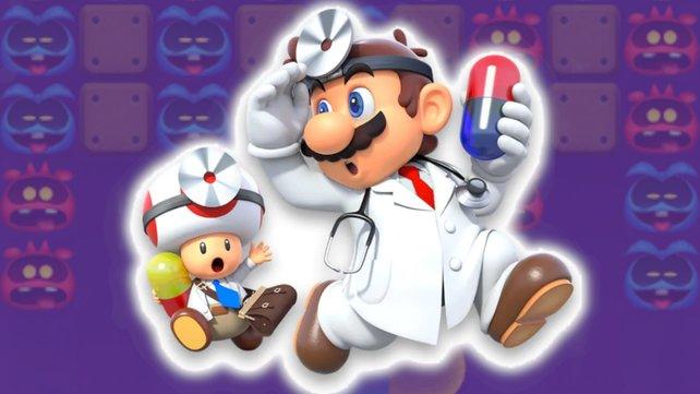 Dr. Mario hat Erfahrung im Kampf gegen Viren.