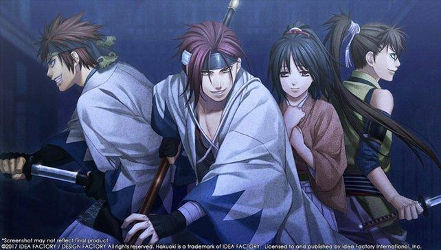 Ihr schließt Bekanntschaft mit den berühmt-berüchtigten Shinsengumi.