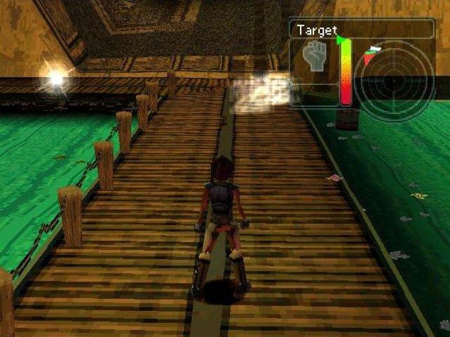 Sieht aus wie Tomb Raider: Urban Chaos wurde ebenfalls von Eidos vertrieben.