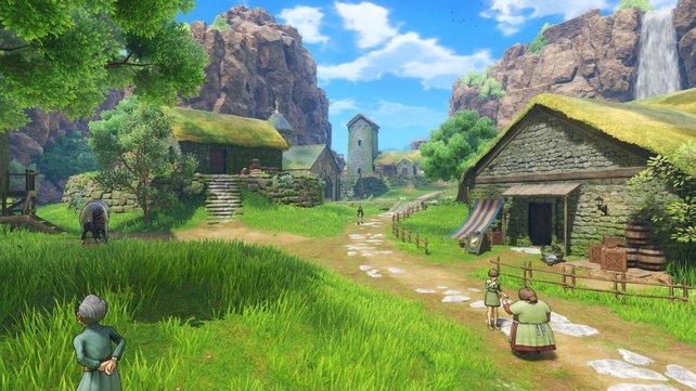 Das Abenteuer beginnt im kleinen Dorf Cobblestone.