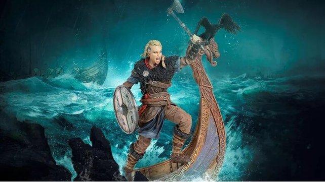 Assassin's Creed: Valhalla - Bisher wurde die Heldin nur in Form von Merchandise gezeigt.