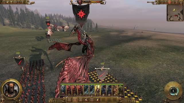 Die Vampire führen Heerscharen furchtloser Untote ins Feld, darunter sogar ein Zombiedrache.