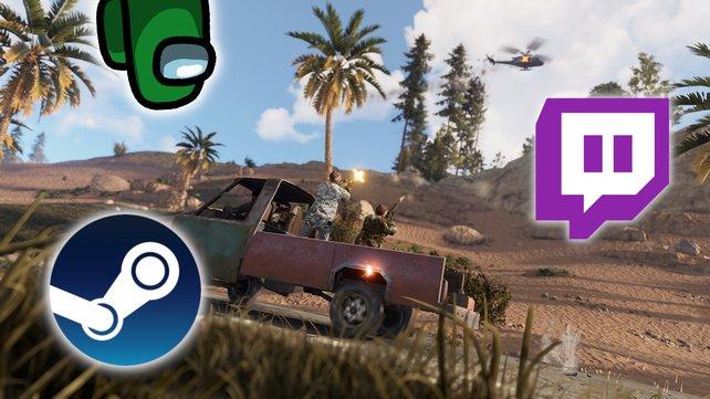 Survival-Spiel löst Among Us auf Steam und Twitch ab.