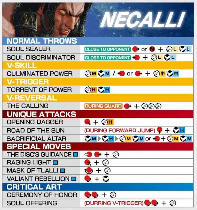Move-Liste Necallie