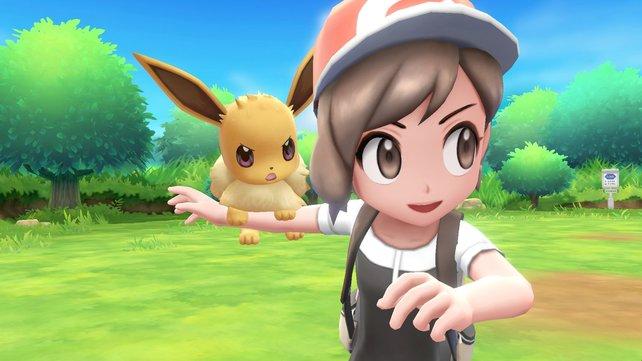 Erfolg vorprogrammiert? Pokémon - Let's Go, Evoli/Pikachu.