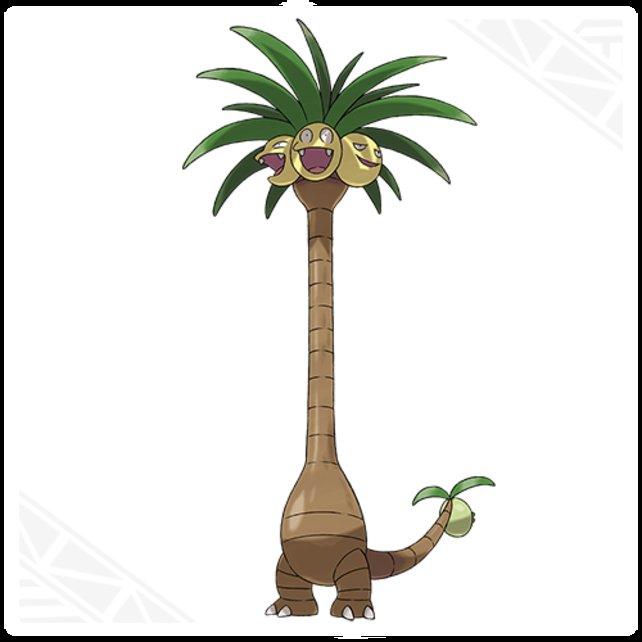Kokowei wächst über sich hinaus: In seiner Alola-Form überragt es fast jedes andere Pokémon.