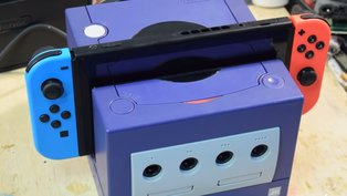 Fan bastelt Docking-Station aus einem Gamecube