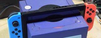 Nintendo Switch: Fan bastelt Docking-Station aus einem Gamecube