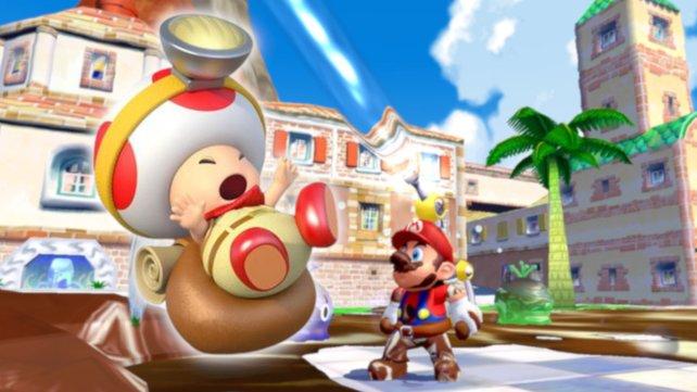 Nach 18 hilft Nintendo einem einsamen Toad.