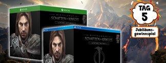 Jubiläumsgewinnspiel: Gewinnt die Mithril-Edition von Mittelerde - Schatten des Krieges für PS4 und Xbox One - **UPDATE 27. APRIL 2018**