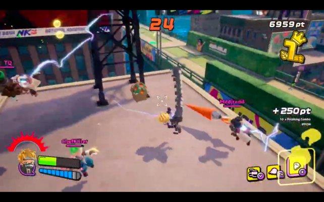 Ninjala ist bunt, total verrückt und macht Laune. Das überzeugt viele Switch-Spieler, wodurch das Spiel in kurzer Zeit oft heruntergeladen wurde.