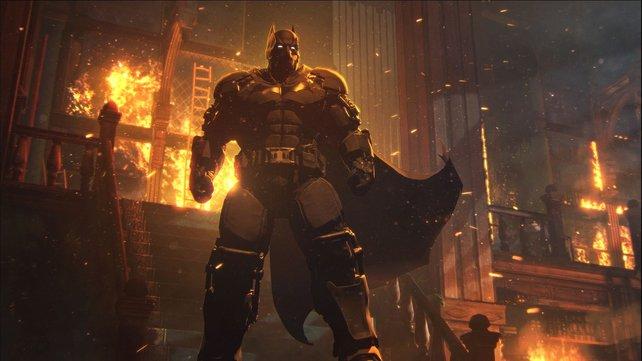 Nur einer der vielen unterschiedlichen Batman-Anzüge aus Batman - Arkham Origins.
